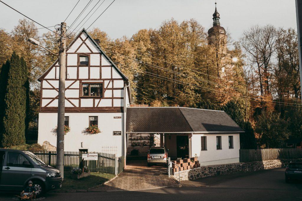 Ferienwohnung Alte Schule von Außen